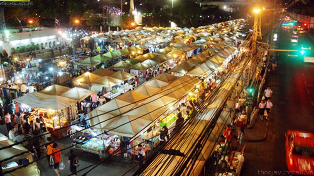 hình ảnh chợ đêm VT