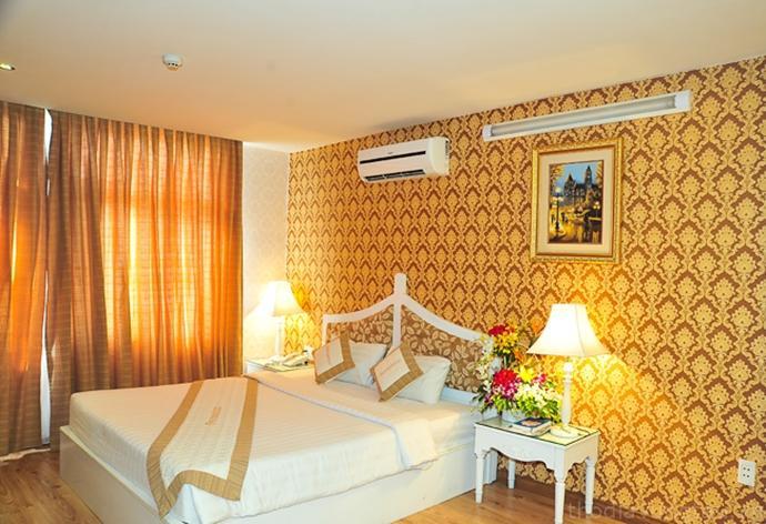 phòng ngủ Khách sạn PetrosetcoVũng Tàu