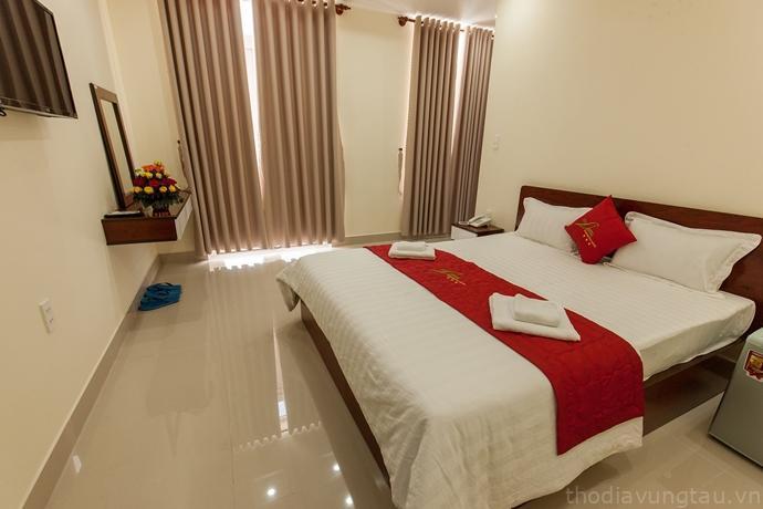 phòng ngủ tại Nam Phương hotel