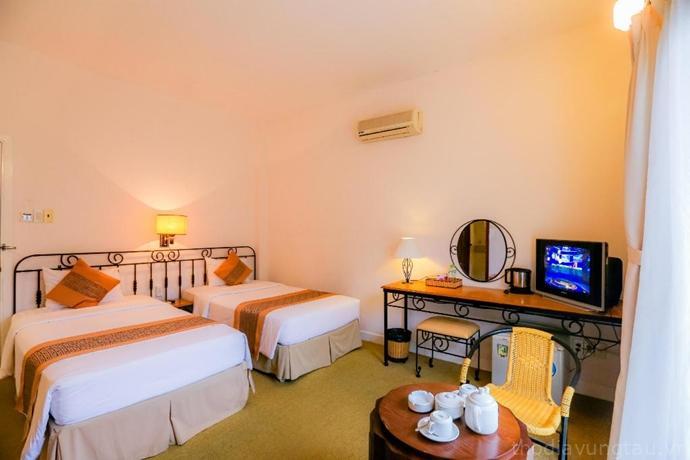 phòng ngủ Khách sạn Valley Mountain