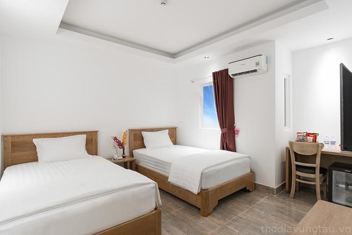 phòng ngủ ở Khách sạn VeeVoo