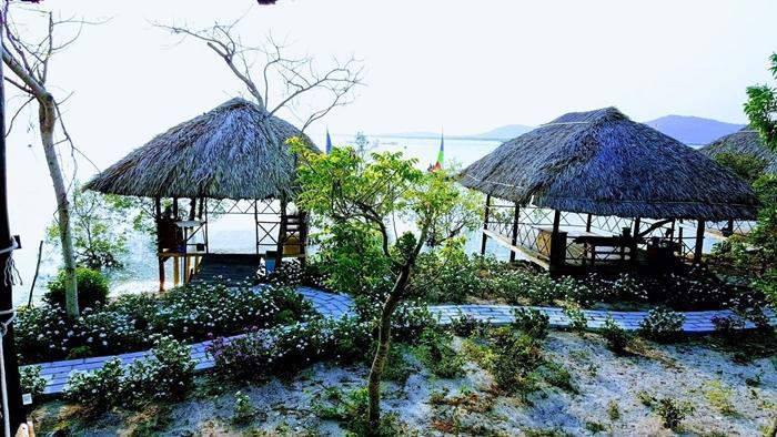 Homestay Marina tại đảo Gò Găng
