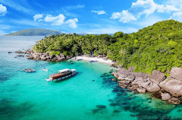 Vẻ đẹp của non nước Côn Đảo