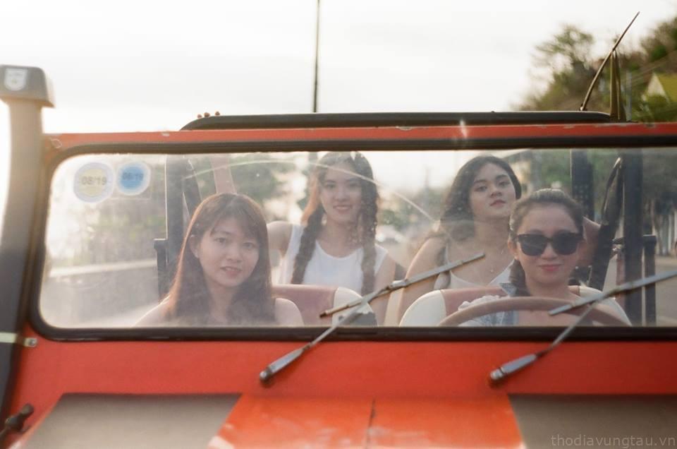 Thuê xe cổ đi dạo Vũng Tàu