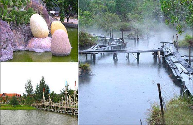 Du lịch suối nước nóng Bình Châu