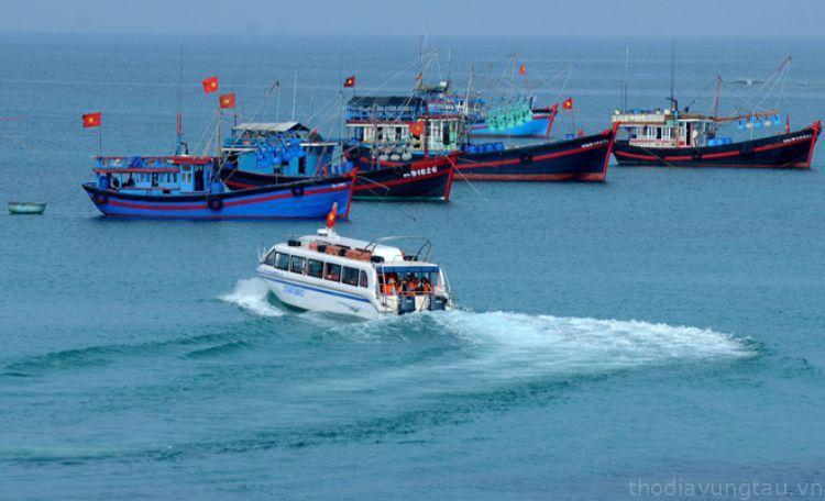 Cano du lịch Côn Đảo