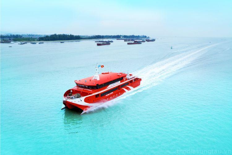 Tàu cao tốc Sóc Trăng đi Côn Đảo