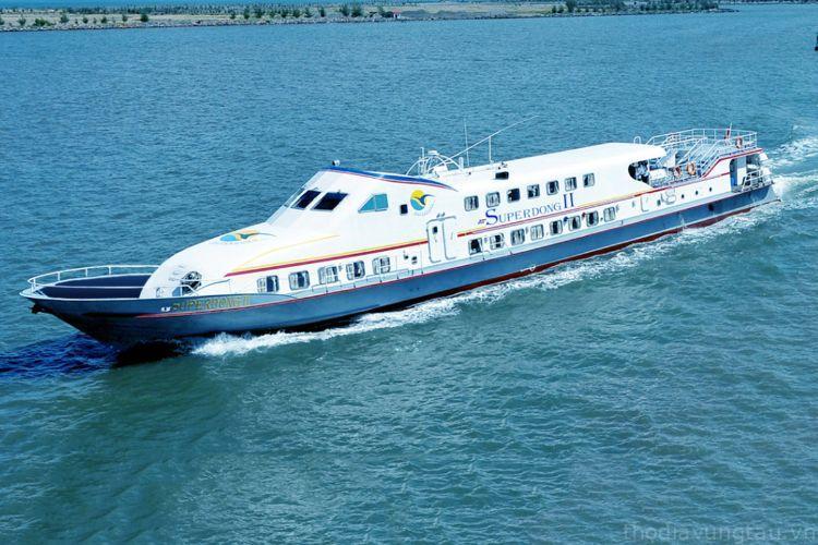 Tàu Superdong đi Côn Đảo
