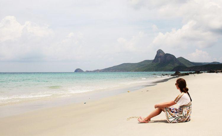 Ngắm biển Côn Đảo