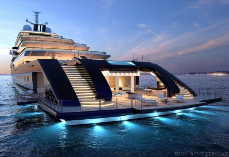 du thuyền khách sạn
