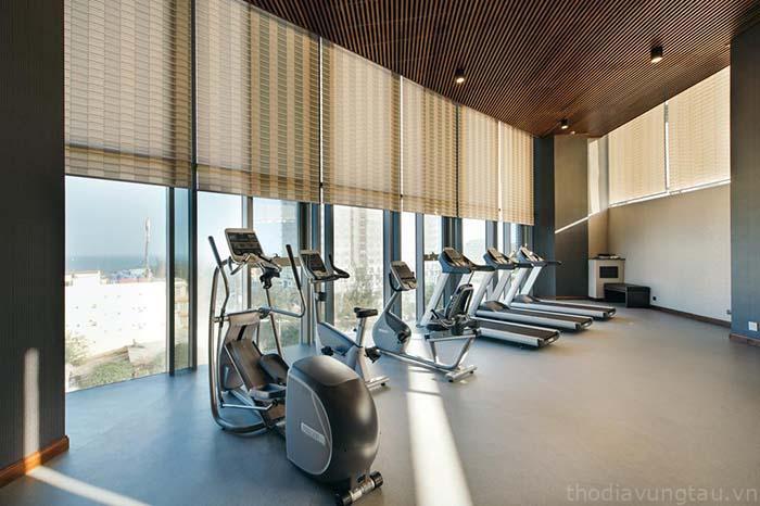 Phòng gym Malibu Hotel