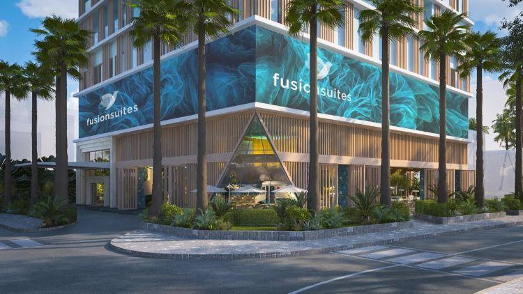 dự án căn hộ khách sạn nghỉ dưỡng Fusion Suites