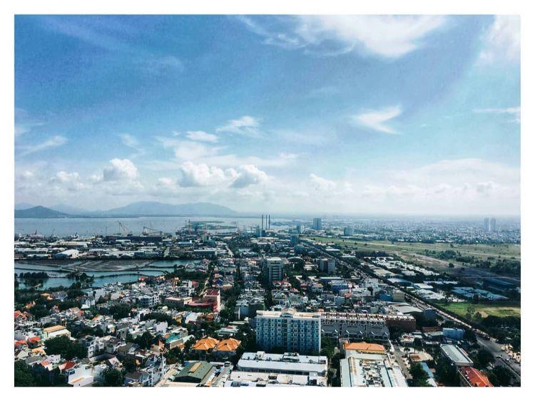 View từ căn hộ Lapen Center