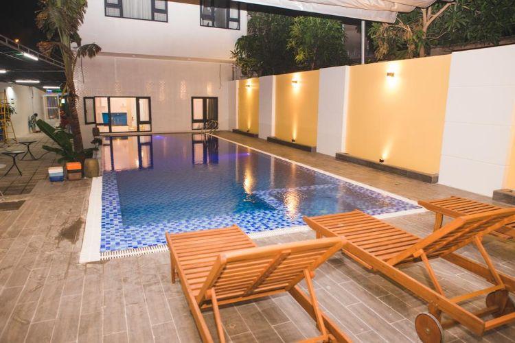 Bể bơi Hai Phuong Homestay