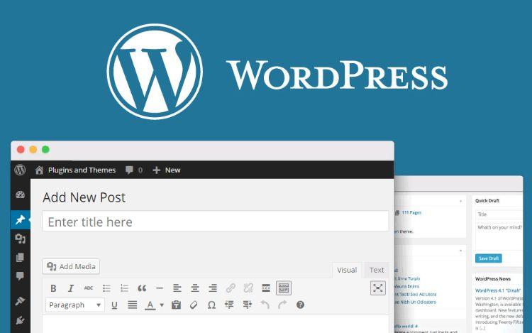 trình editor wordpress