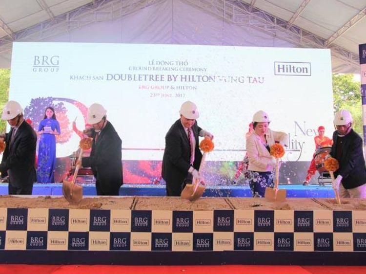 lễ động thổ DoubleTree by Hilton Vung Tau