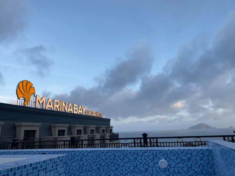Marina Bay Côn Đảo Hotel hồ bơi vô cực
