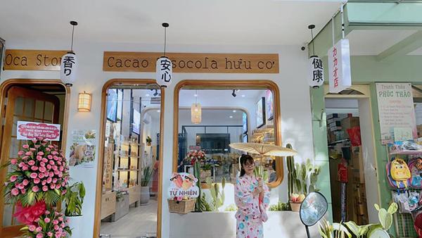 Cửa hàng OCA đậm chất Nhật Bản là phông nền check-in cực đẹp